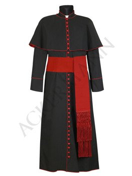 Red cincture for cassock