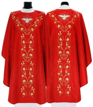 Semi-Gothic Chasuble Holy Spirit model 653