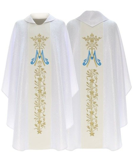 Marian Gothic Chasuble model 581