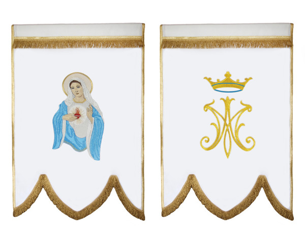 Banner Heart of Mary
