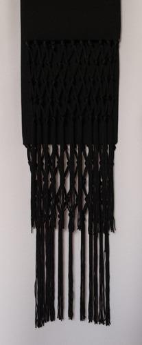 Black cincture for cassock