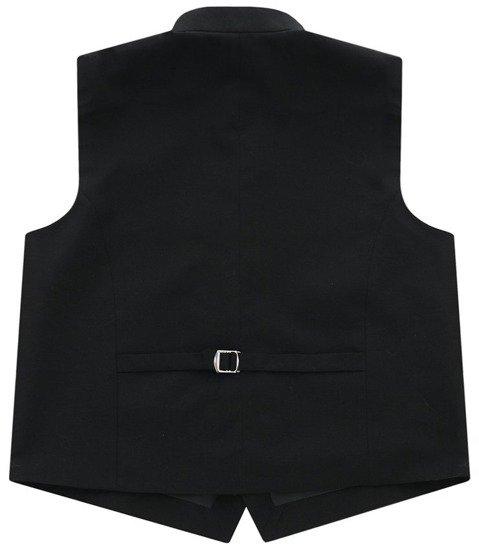 Black clergy waistcoat