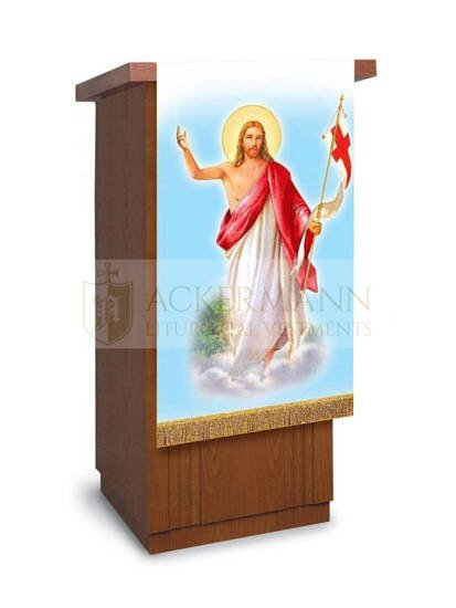 Gothic Chasuble Jesus is Risen model 446