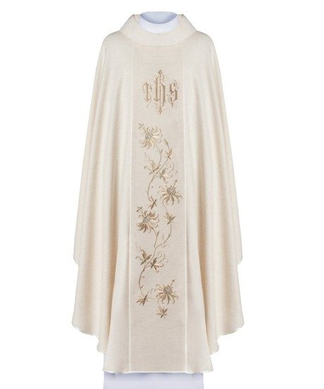 Gothic Chasuble flowers