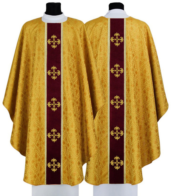 Gothic Chasuble model 748