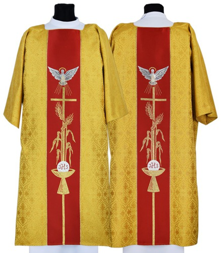 Gothic Dalmatic Holy Spirit model 007