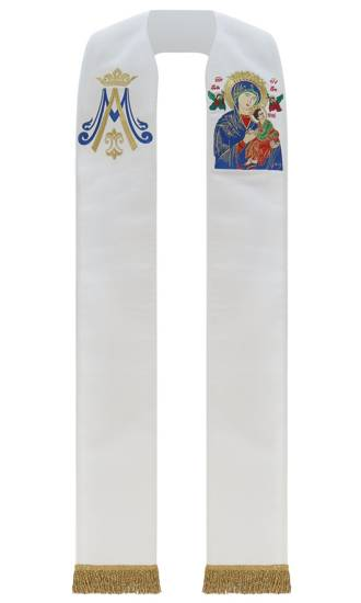 Gothic Stole Our Lady of Perpetual Help