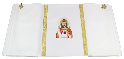 Humeral veil Christ the King