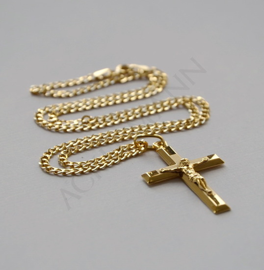 Large Cross gold-plated