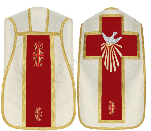 Roman Chasuble Holy Spirit