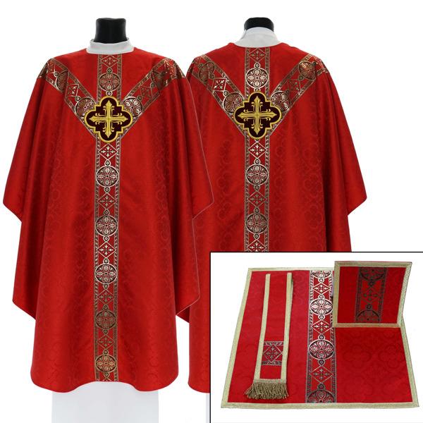 Semi Gothic Chasuble model 210