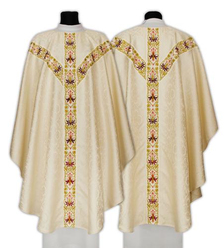 Semi Gothic Chasuble model 637
