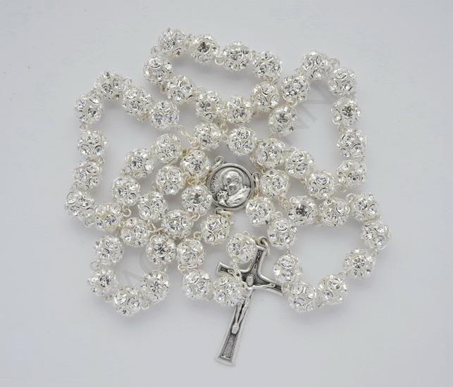 Swarovski Crystal Rosary Clear crystal