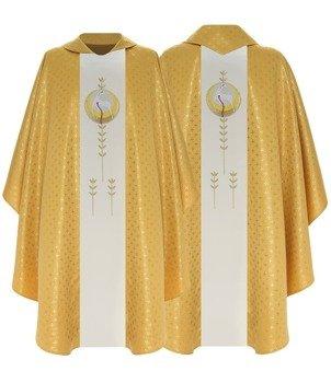 Gold Gothic Chasuble Lamb model 788