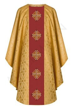 Gold Gothic Chasuble model 768