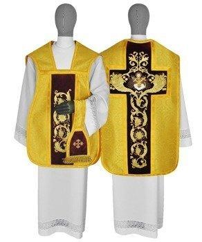 Gold Roman Chasuble Sacramental bread model 787