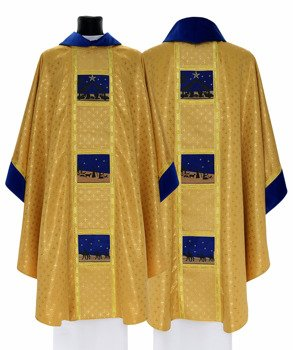 Gothic Chasuble Christmas model 759