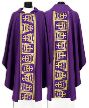 Gothic Chasuble model 030