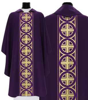 Gothic Chasuble model 046