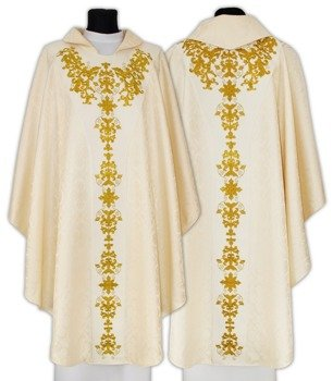 Semi Gothic Chasuble model 652