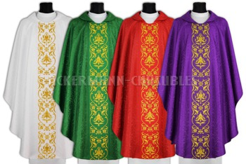 Set of Gothic Chasubles model 674