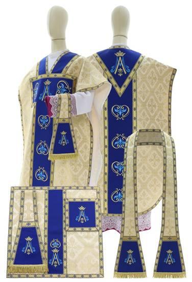 Cream Chasuble St. Philip Neri