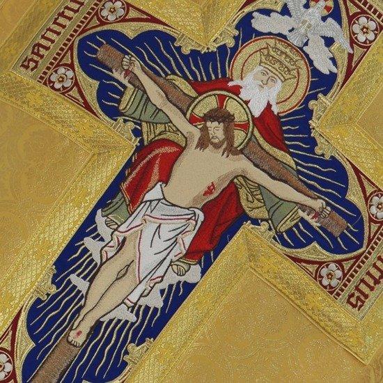 Gold Roman Chasuble Holy Trinity