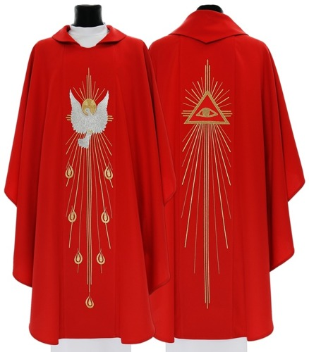 Gothic Chasuble with holy spirit's model 535