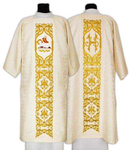 Gothic Dalmatic model 598 The Lamb of God