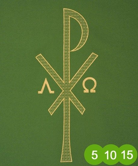 Green Gothic Chasuble 7011