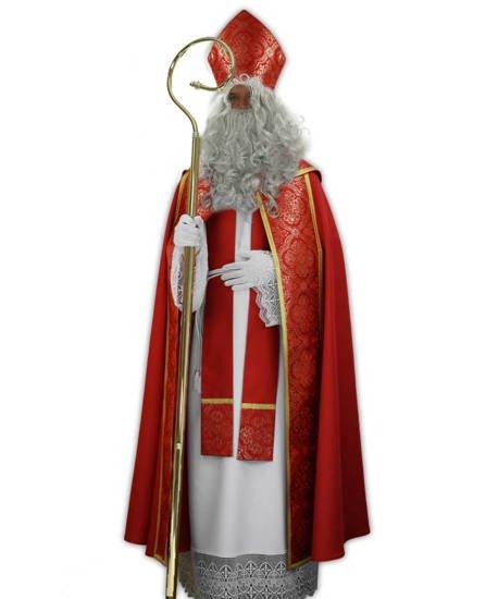 Nikolaus-gewand Kostüm Sankt Nikolaus (Kleidung des echten Hl. Nikolaus) SC1