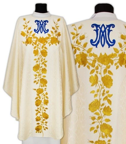 Semi Gothic Chasuble model 662